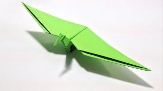 Origami Dinosaur - How to make an Origami Flying Dinosaur: Pterodactyl