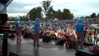 "DEVO: ""Whip It"" live in Yarra Valley, Australia - 12/1/12"
