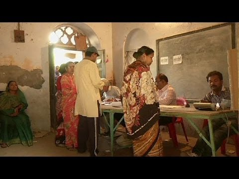 Wochenlange Wahlen In Indien Zu Ende