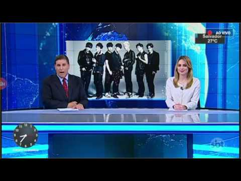 BTS no Jornal do SBT Brasil (20-03-2017)
