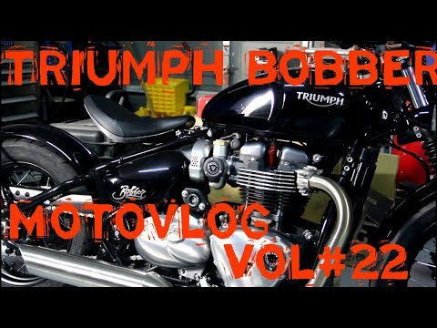 2017 Triumph Bobber Motovlog 22 A ride around Bakersfield
