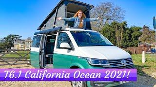 FULL TOUR **VW T6.1 California Ocean** 2021 Camper Van!