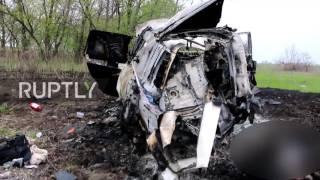 Ukraine  Land mine kills OSCE monitor in Lugansk