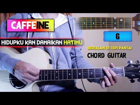 Kunci Gitar Mudah Caffeine Hidupku Kan Damaikan Hatimu Youtube