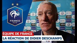 La réaction de Didier Deschamps, Equipe de France I FFF 2018