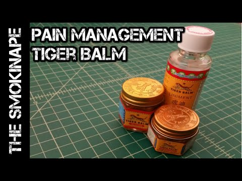 Pain Management (Muscle Aches and Sprains) – Tiger Balm – TheSmokinApe