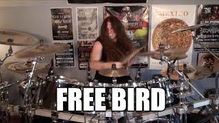 """Lynyrd Skynyrd - """"Free Bird"""" - DRUMS"""