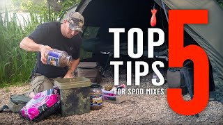 TOP 5 TIPS FOR SPOD MIXES To Help You Catch More Carp! (+ Tiger Nut Rig) Mainline Baits Carp Fishing