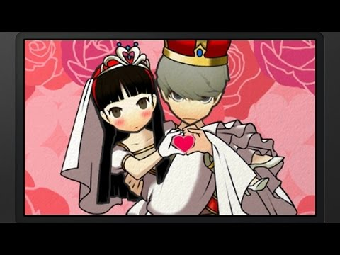 Persona Q: SotL - P4 MC & Yukiko Wedding (P4) [Group Date Cafe]