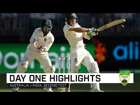 Aussies Battle Hard Against Valiant India | Second Domain Test