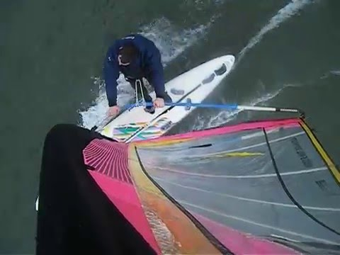 2016-03-19 Windsurfing Hamworthy- Mast Cam (Mistral Equipe)