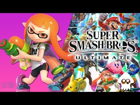 Bomb Rush Blush Splatoon New Remix - Super Smash Bros Ultimate Soundtrack