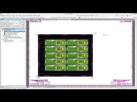Embedded Board Arrays And Panelization | Altium Designer 17 Advanced | Module 21