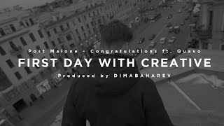 First day with creative person (prod. Dimabaharev) | 4K
