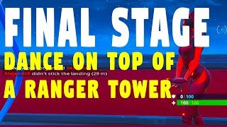 Fortnite: Where To Dance On Top Of An Air Traffic Control Tower