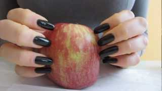 ASMR: scratching and nail resistence with an apple (FULL VERSI…