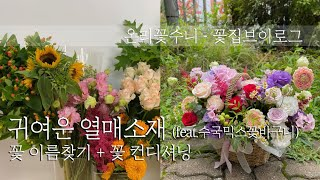 [꽃수니TV] 귀염귀염한 열매소재 + 꽃다듬기 컨디셔닝…