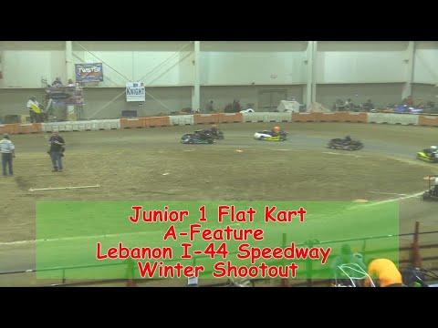 Junior 1 Flat Kart A Main   I 44 Speedway Winter Shootout 1 19 2018
