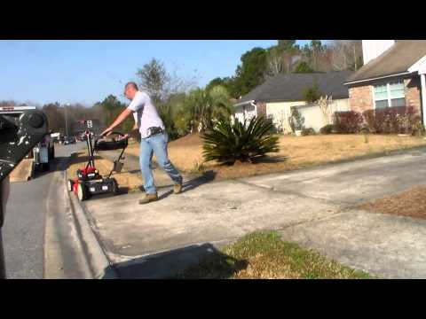 Trimmers VLOG March 1 - GPS Mile Tracker on a Push Mower - Straw Job and More