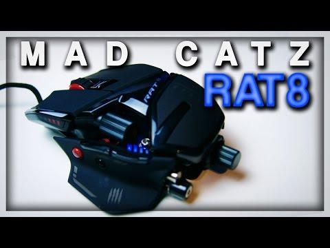 Mad Catz RAT 8 - Mein Erstes UNBOXING | Deutsch