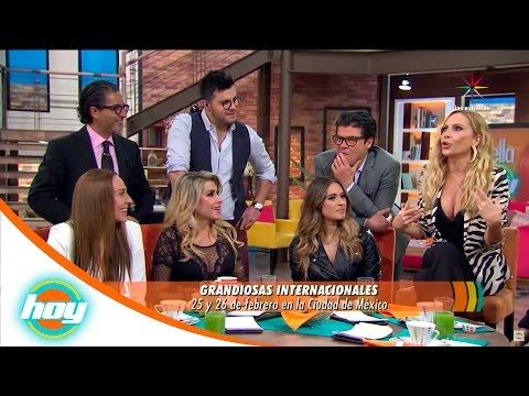 Mónica Naranjo, Martha Sánchez, Dulce y Karina juntas en 'Grandiosas Internacionales' | Hoy