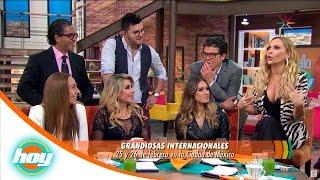 Mónica Naranjo, Martha Sánchez, Dulce y Karina juntas en