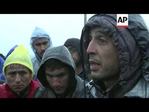 1800 migrants in limbo between Croatia, Slovenia