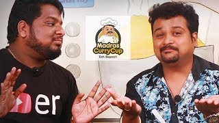Chutti Aravind & RJ Vignesh talks about Madras Curry Cup