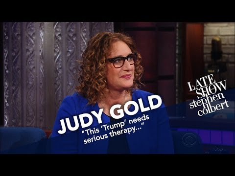 Judy Gold: 'Trump Needs Therapy'