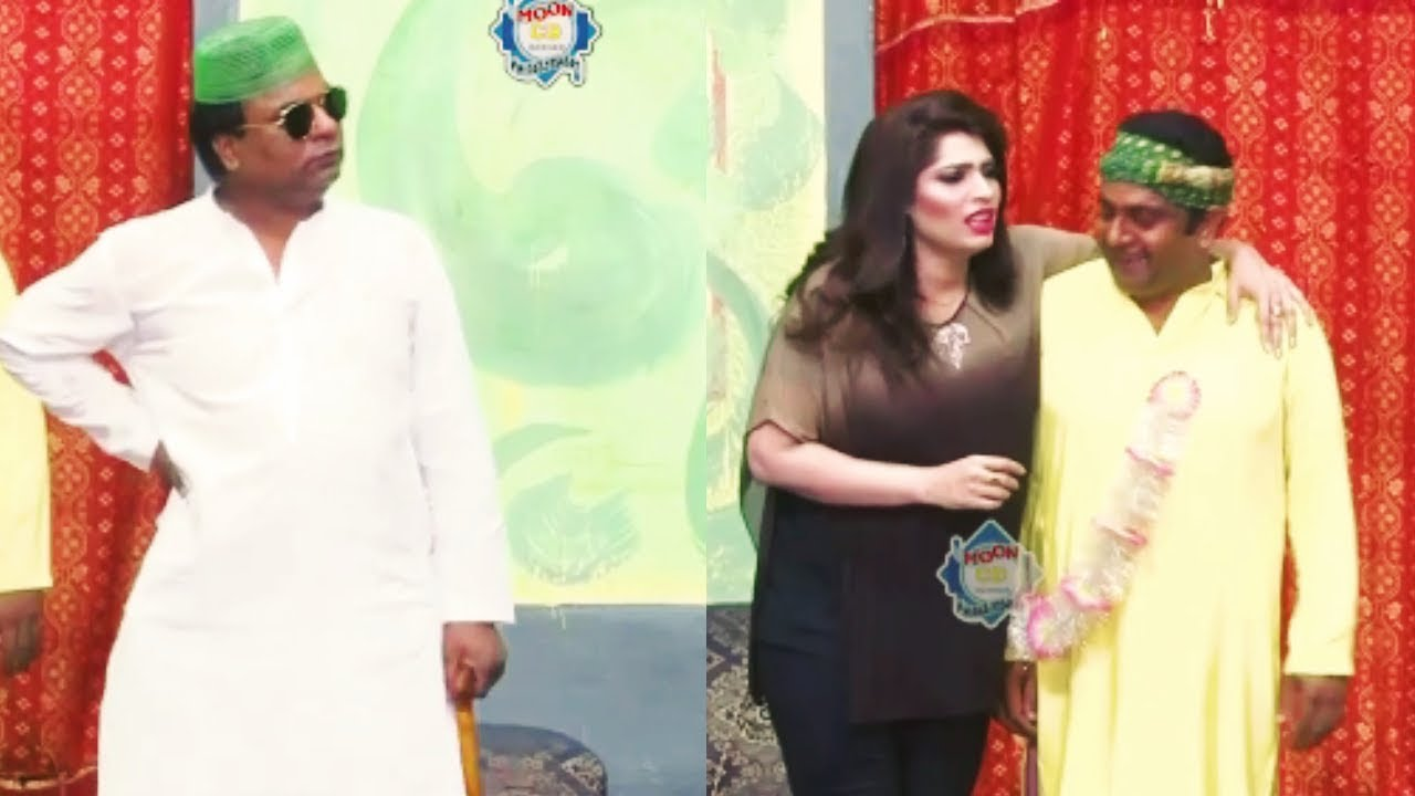 Gulfam and Tahir Anjum with Huma Ali New Stage Drama Full Comedy Clip 2019