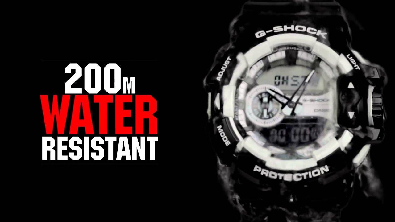 7cfeb190044 Relógio Casio Masculino G-Shock GA-400-4BDR - Eclock - YouTube