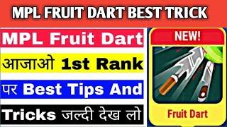 Fruit Dart Game Mein Jiyada Score Kaise Banaye