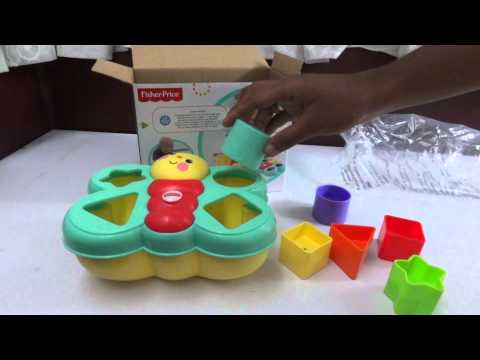 Baby Toys |Fisher Price Sort N Spill Butterfly Shape Sorter Review