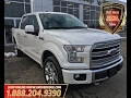 2017|FORD|F150| Limited| Leather| Back up Camera| Keyless Entry| Low KM| Grove Dodge