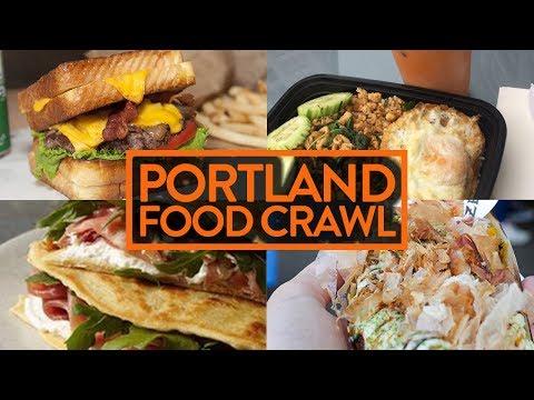PORTLAND FOOD CRAWL (We Eat Everything) - Fung Bros Food