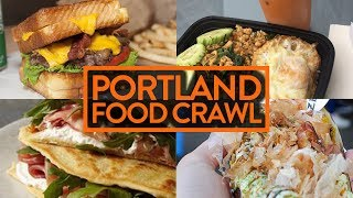 PORTLAND FOOD CRAWL (We Eat Everything) - Fung Bros Food