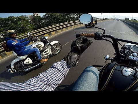 Why people hate Royal Enfield   Hathi math palo   Royal Enfield top speed