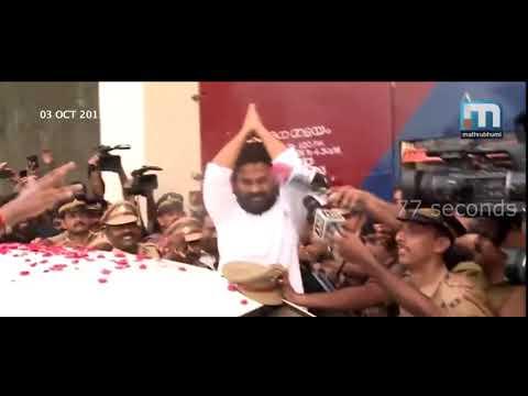 Dileep real life  mass  intro   Re - Entry Of Janapriya Nayakan Dileep