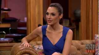 "Gal Gadot - INTERVIEW - The new ""Wonder Woman"" - Fast & Furious 6 - HUFFINGTON POST HUFFPOST LIVE"