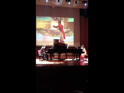 Hesitation Tango, vjc piano ensemble concert 2013