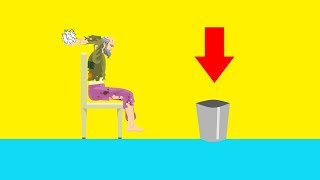 WORLD'S HARDEST PAPER TOSS! (Happy Wheels #104)