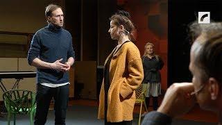 JRT aktieri izrādē ''Dzeja'': ieraksts LR 1.studijā