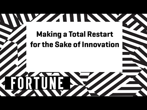 How These Companies Did a Total Restart for the Sake of Innovation| Brainstorm Design 2017 | Fortune
