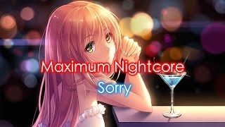 nightcore sorry female version