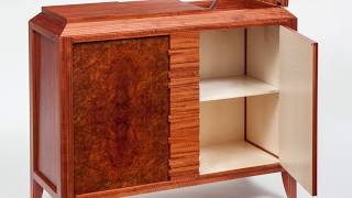 Craig Thibodeau - Ct Fine Furniture - Puzzle Cabinet