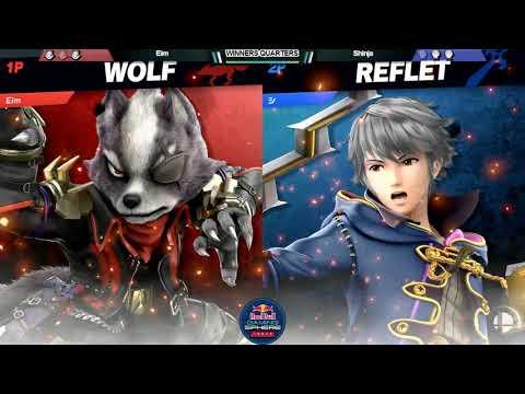 スマパ!SP#7 WQF Eim(ウルフ)vs 信者(ルフレ)- Eim(Wolf)vs Shinja(Robin)- スマブラSPオフ大会
