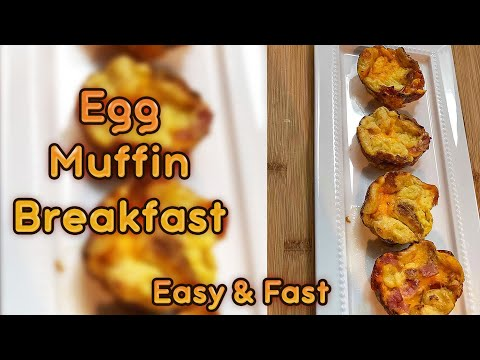 How To Make Egg Muffin Breakfast
