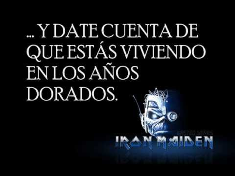 IRON MAIDEN - Wasted Years (traducida al español)