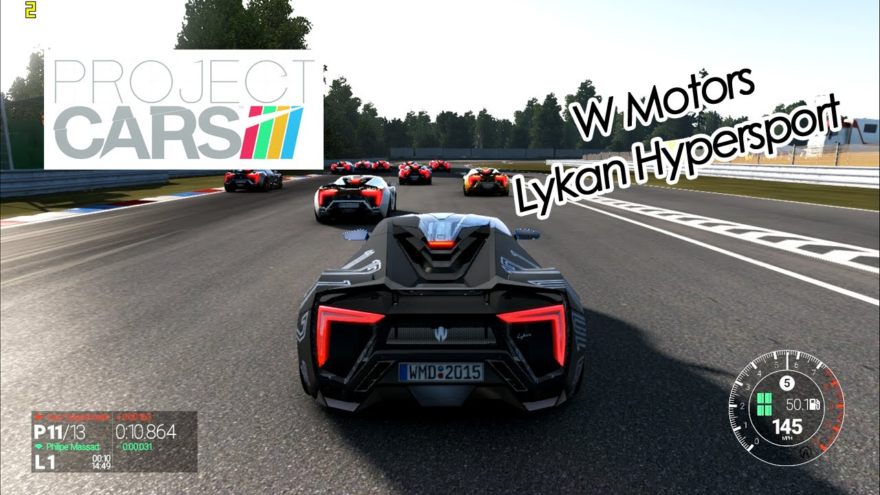 Crazy Driving W Motors Lykan Hypersport Game Project