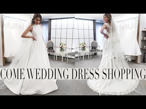 COME WEDDING DRESSS SHOPPING PART 2 | Lydia Elise Millen